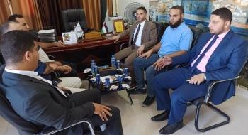مدير نيابة غزة الأولي ومدراء المباحث شرق غزة  يؤكدون على تعزيز الأمن والاستقرار المجتمعي وتعقب الجريمة ومكافحة الظواهر السلبية