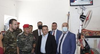 في زيارةٍ تفقدية نيابة مكافحة الفساد وجرائم الأموال تتابع أحوال النزلاء في السجن العسكري المركزي