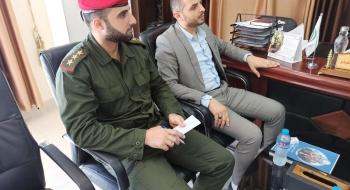 رئيس نيابة غزة الأولي  ومدير الشؤون القانونية بالشرطة العسكرية يؤكدان على الالتزام بدقة وسلامة الإجراءات القانونية وترسيخ هيبة القضاء