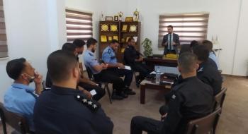 نيابة شمال غزة الجزئية وبالتعاون مع إدارة مركز شرطة بيت لاهيا تعقد ورشة تدريبية لكادر تحقيق المركز