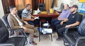 مدير نيابة غزة الأولى ومدير مباحث المرور يؤكدان التشدد في قضايا سرقة المركبات