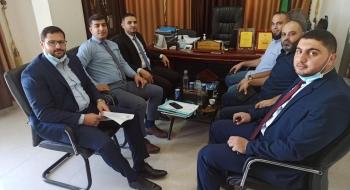 نيابة غزة الجزئية الأولى تستضيف مدراء أقسام المباحث العامة