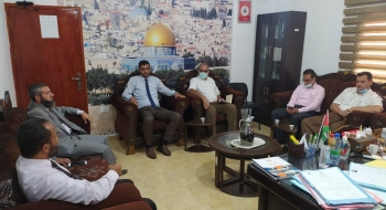 مدير نيابة رفح الجزئية ومدير مستشفى النجار يؤكدان على تعزيز خدمات المواطنين