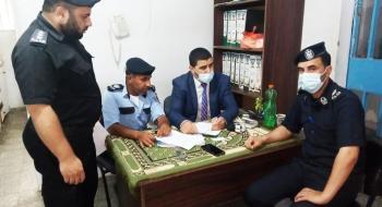 ضمن المتابعة المستمرة والدورية النيابة العامة تجري جولة تفتيشية على نظارات مراكز شرطة خانيونس