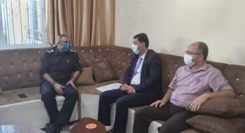 التفتيش القضائي يجري زيارات تفتيشية على مراكز شرطة محافظات وسط وجنوب قطاع غزة *