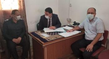 التفتيش القضائي يبدأ زيارات لمكاتب تحقيق حوادث المرور في غزة