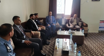 مدير نيابة غزة الجزئية ومدير مركز الشيخ رضوان يؤكدان على تضافر الجهود فى تحقيق العدالة والاستقرار المجتمعي