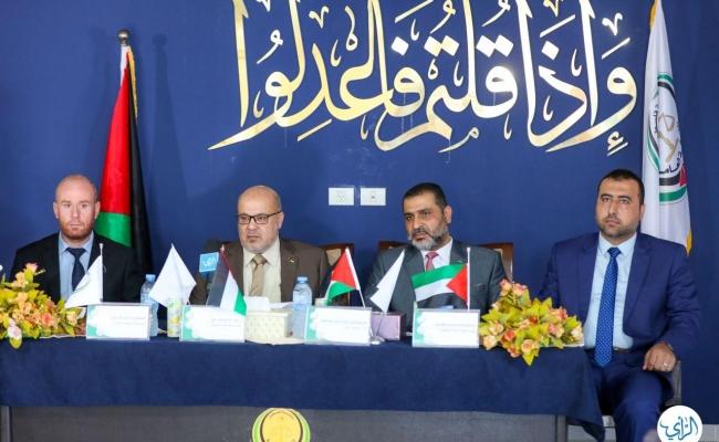 بحضور رئيس متابعة العمل الحكومي أ. عصام الدعليس، النيابة العامة بالشراكة مع المعهد العالي للقضاء تفتتحان برنامج
