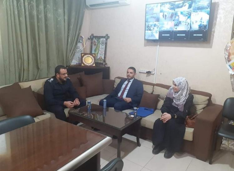 مدير نيابة غزة الدائرة الأولى يلتقي مدير شرطة التفاح والدرج ويؤكدان على تعزيز التعاون الاجرائي وتجويد الخدمات العدلية