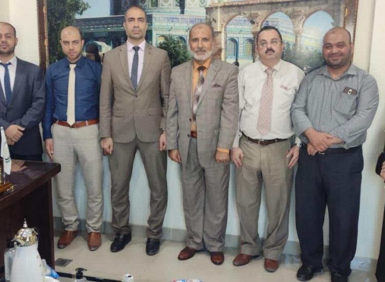 ️نيابة غزة الجزئية الثانية تعقد لقاءاً تعاونياً مع نقابة الصيادلة