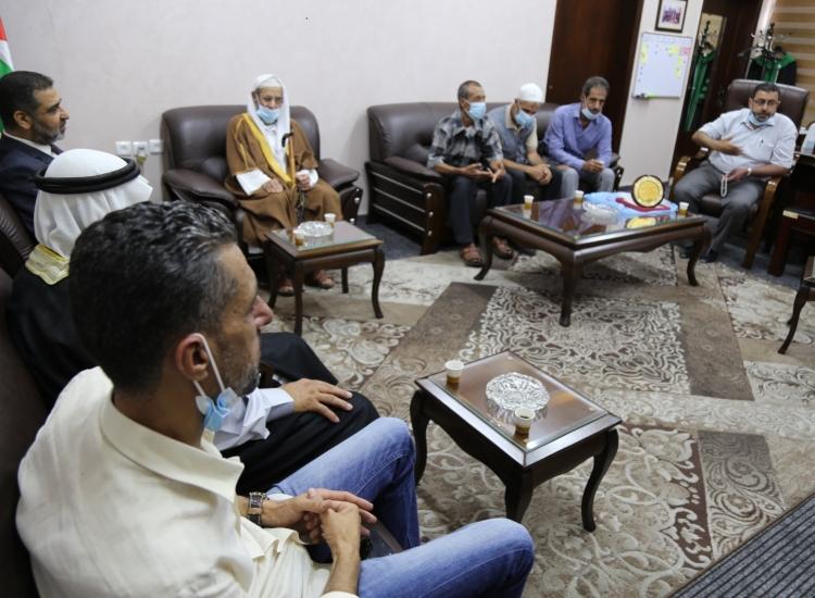 النائب العام يستقبل  ووجهاء عائلة مهاني  ويؤكد  على تجسيد اللحمة والمحافظة على الاستقرار المجتمعي