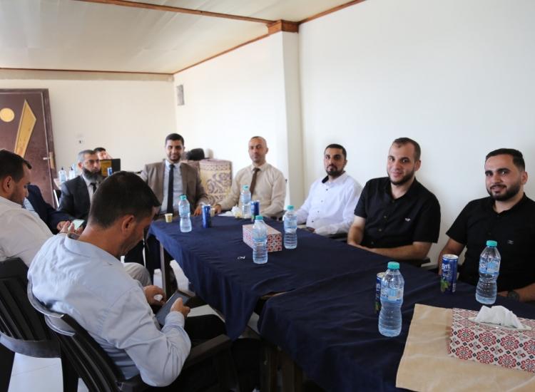 لقاء معايدة النائب العام مع أسرة النيابة العامة
