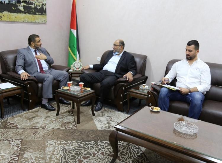 النائب العام يستقبل رئيس ديوان المظالم بمجلس الوزراء ويؤكدان على ترسيخ العدالة وسيادة القانون